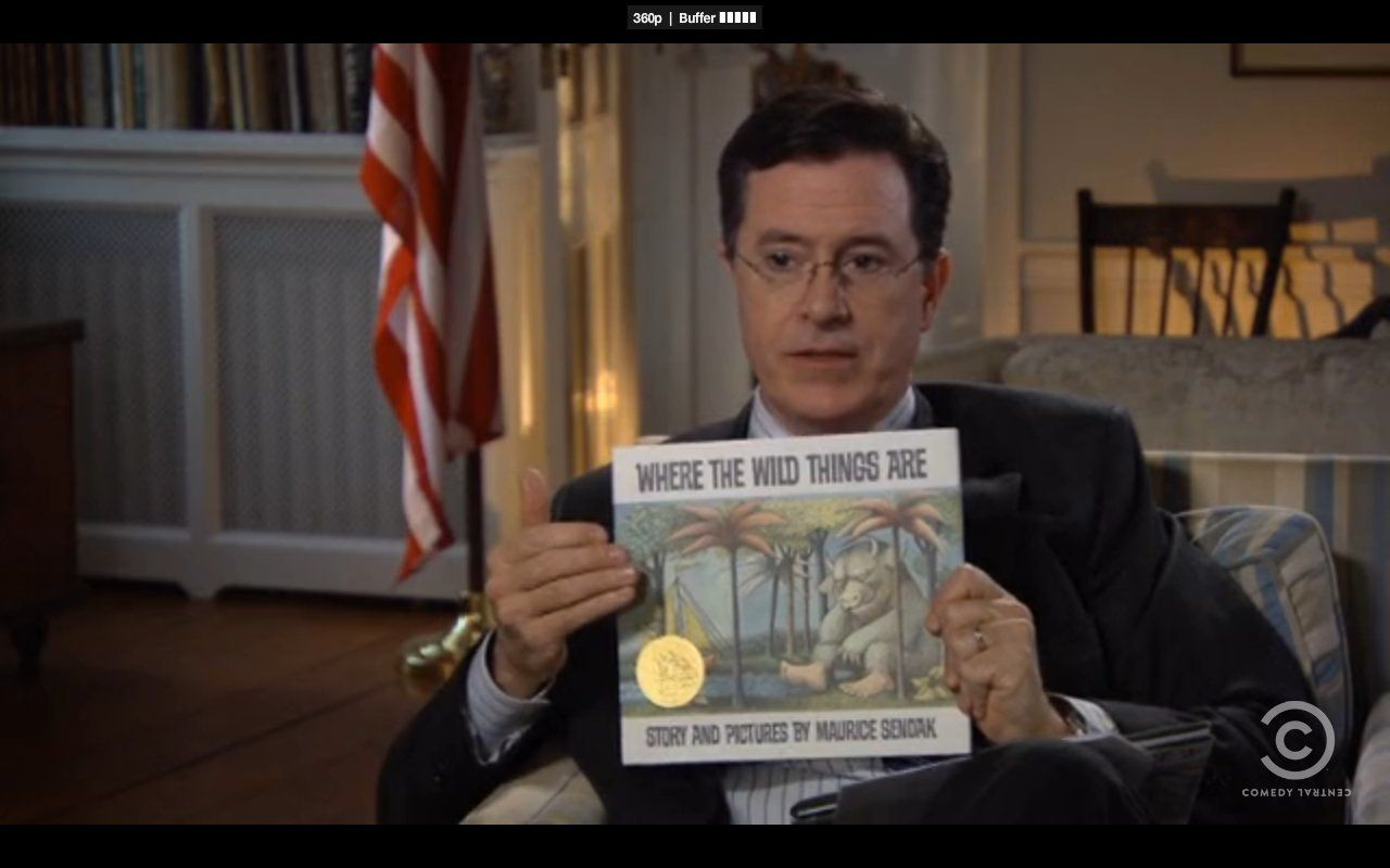 colbert report childrens books